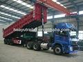 Hohe Nutzlast 3 achs 60 tonnen kipper LKW/sattelauflieger