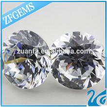 Hot Sale Round Diamond Cut Cubic Zirconia Gemstone