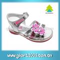 la gloria caliente venta 2014 niñas sandalias planas y de alta calidad sandalia chico