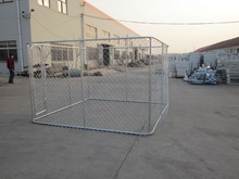 Heavy duty hot dip galvanized large outdoor metal pet dog pen