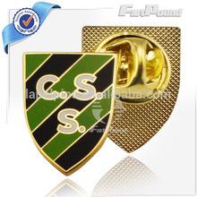 CSS Enamel Gold Lapel Pins