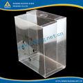 impermeável transparente caixa de plástico com tampa