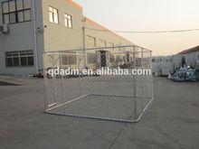 Heavy duty steel hot dip galvanized chain link dog kennel