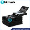 DJ Mixer Case with Gliding Laptop Tray