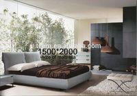 2014 Divany comfortable bed set colorful bedroom furniture pictures of designer beds A-B25