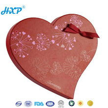 Pring&packaging 1C 3-Layer A-Flute Offset Glazing gift box for wedding