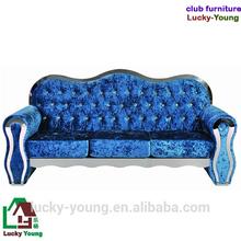 luxury modern sofa italian modernitalian stainless steel frame velvet sofa