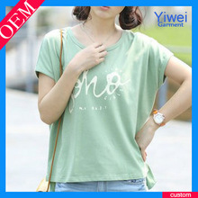 Custom Cheap Fitted Women T Shirts Wholesale Factory Price T Shirt