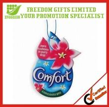 Best Selling Custom Logo Paper Car Air Freshener