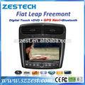 "Zestech lettore dvd gps bluetooth radio 8"" dvd gps per fiat salto Freemont dvd con radio"