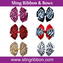 Mixed Style Hair Bow, Kids Hair Ribbon Bow