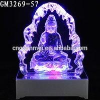 Jiangsu Art& Collectible Buddhism Glass Crafts Factory Supplier
