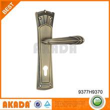 plate handle bronze old color luxury door handles