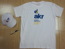 advertising cheap t-shirts with hat and pens for world cup 2014