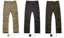 korean men's outdoor hot slim fit long casual trousers pants