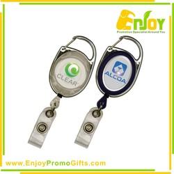 High Quality Bespoke Metal retractable Reel Badges