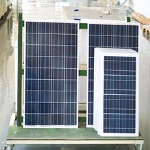 5 years warranty high efficiency 100W poly solar cell