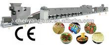 Y mini instant noodle processing line /quick-served noodle machine 11000pcs/8h ss