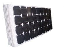 5 years warranty high efficiency 110W mono solar cell