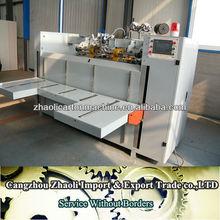 semi-auto corrugated carton box stapling machine/paper staple machine/Shoe box stitching machine