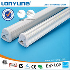 Integrated 4ft 18w t8 led red tube animals with ETL TUV SAA CE ROHS DLC LCP approval 3 years warranty