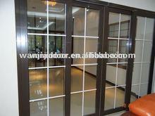 sliding glass door with grills