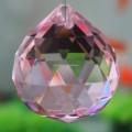 la buena calidad facetado bola de cristal para las luces