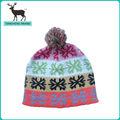yeni tasarım kaliteli ucuz örme çizgili kış bere şapka ve bereler