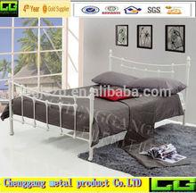 Queen size Designer Antique home platform Metal bed