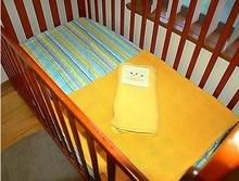 Baby Cot Bedding - Polar Fleece Blanket, Cellular Blanket & Fitted Sheet