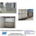 leve cimento eps sandwich painel de parede trilhos para paredes exteriores