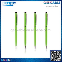 High quality stylish capacitive mini stylus touch gel pen