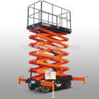 Push type maunully electric scissor lift platform (Upgraded)