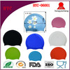 custom printed silicone swim cap, design your own swim cap, printing silicone swim cap