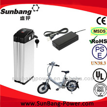 3 material lithium / Ni-MH / LiFePo4 for electric bike battery 24v 12ah