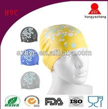 swim ear cap, silicone ear swim cap, ear protection swim cap