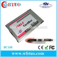 Laptop Pamcia cardbus 2 Ports usb 2.0 Pc Cardbus Adapter