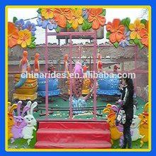 Children playground attractions amusement indoor rides happy spray ball park attraction