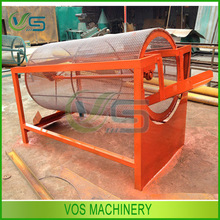 Little space occupy and high output sawdust sieving machine/wood sawdust sieve machine/drum trommel screen
