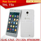 Hot selling THL THL T5S China Smart Phone with MT6582 4.7inch QHD Screen high quality phone