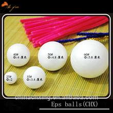 2014 Hot-selling Decorative Christmas Polystyrene Balls /Styrofoam Beads Most Popular