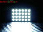 led panel light for vehicle interior /map/dome lamp with T10 ba9s festoon adapters