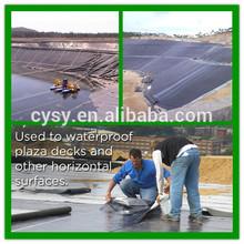 china producer black pond liner,PE waterproofing membrane