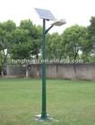 Solar panel pole FRP lighting pole-price list