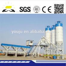 HZS50 precast concrete batching plant