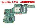 Venta al por mayor a000095030 placa base para toshiba satellite l730 original del ordenador portátil notebook tablero principal de la placa base 100% de trabajo perfecto