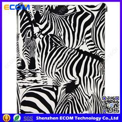 Cheap price Ultra Slim Full Body Smart cover Zebra PC case for Ipad 2