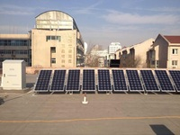 2014 New Complete set high efficiency grid-tied solar power system (ISO 9001, CE)