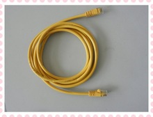 cat5e/6 patch cord lan/network cable molded with RJ45 connector