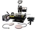 Multi- función de calor máquina de la prensa/estampación en caliente de la máquina para tazas/mugs/tarros/t- shirt/placas/tapas 8 in1